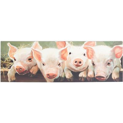 Picture of Pigs Canvas