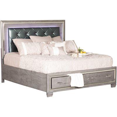 Picture of Titanium King Storage Bed