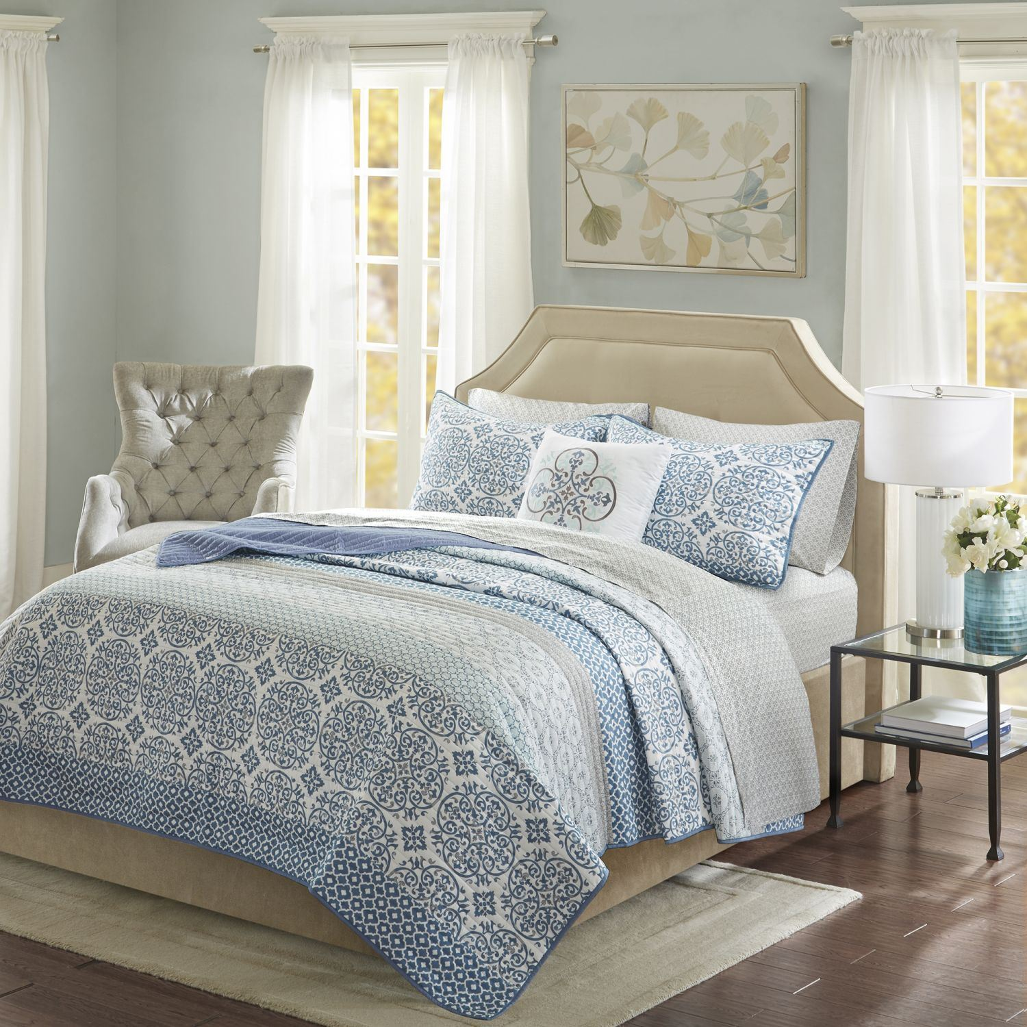 Enjoyable Sybil Queen Coverlet And Sheet Set Caraccident5 Cool Chair Designs And Ideas Caraccident5Info