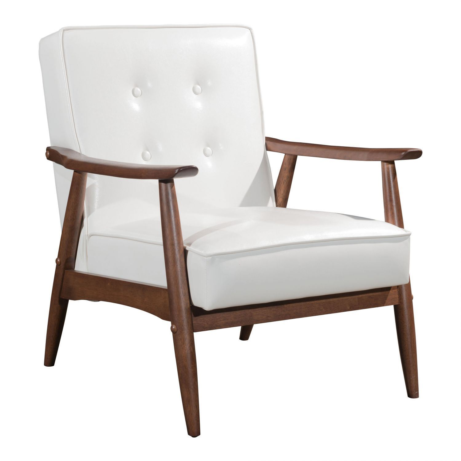 Picture of Rocky Arm Chair White *D