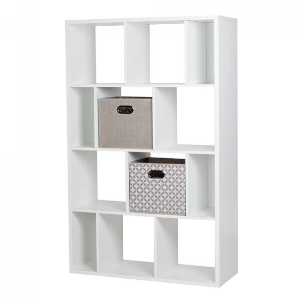 Picture of Reveal 12-Cube Shelving Unit W/ 2 Fabric Storage B