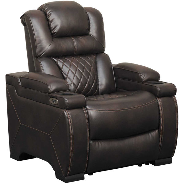 Picture of Warnerton Power Recliner with Adjustable Headrest