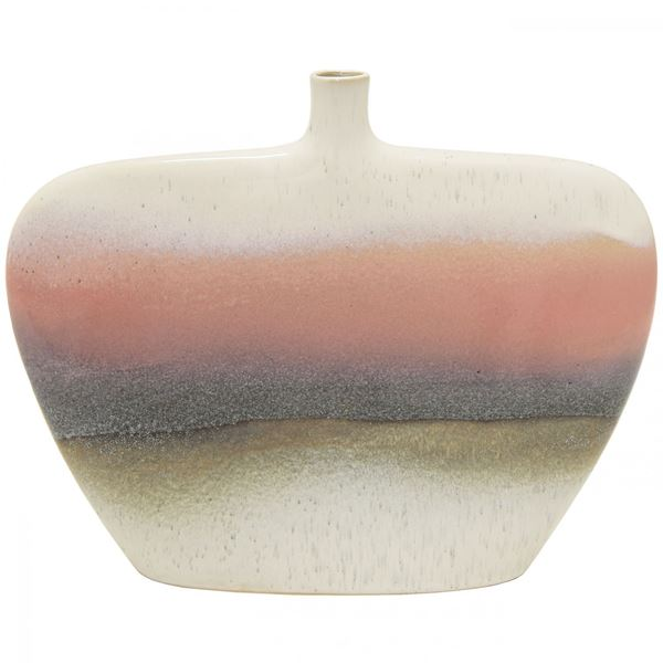Picture of Blush Grey White Vase