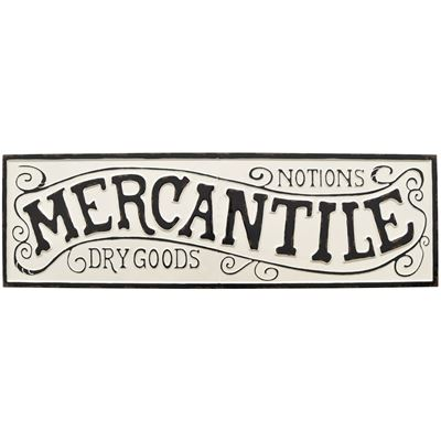 Picture of Mercantile Metal Sign