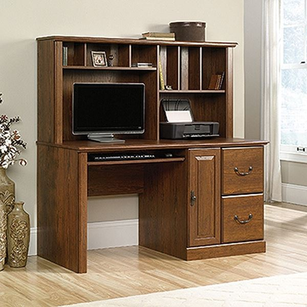 Picture of Orchard Hills Comp Desk W/hutch Milled Cherry * D
