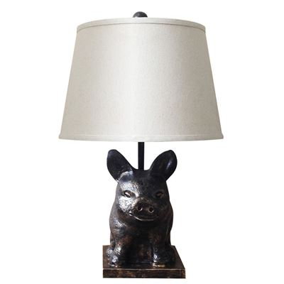 Picture of Farm Pig Table Lamp