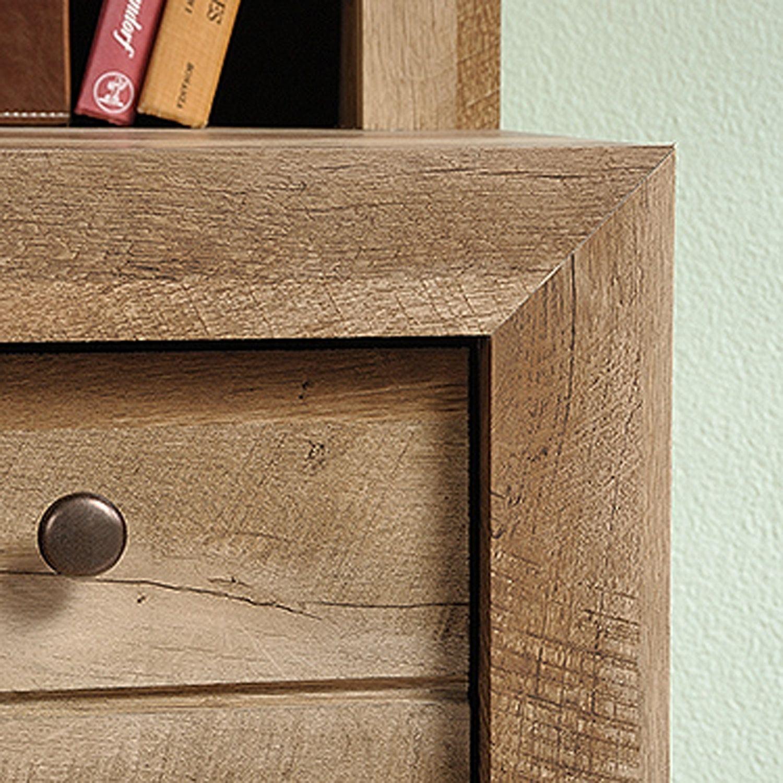 Picture of Dakota Pass Computr Desk W/ Hutch Craftsman Oak *
