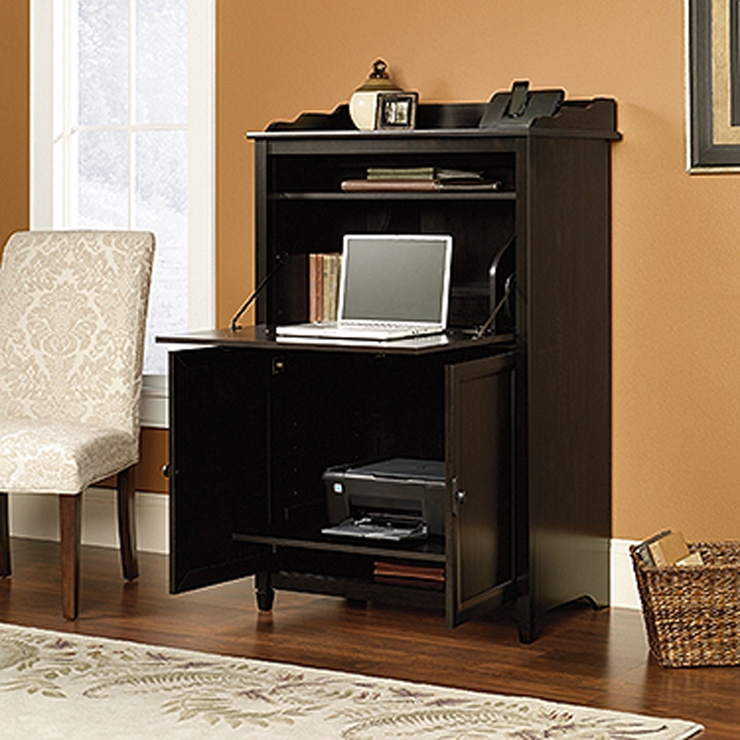 Picture of Edge Water Smartcenter Secretary Estate Black * D