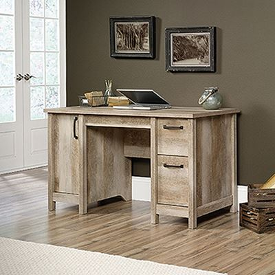 Picture of Cannery Bridge Computer Desk Lintel Oak * D