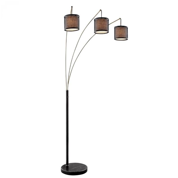 Picture of Dark Coffee Arc Lamp