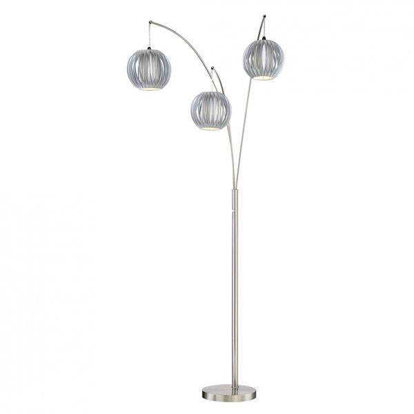 Picture of Grey Vinyl Arc Lamp