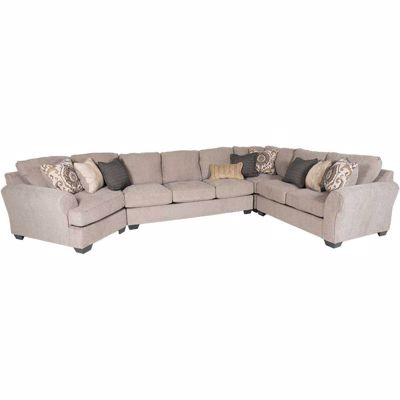 Picture of Pantomine 4 Piece Sectional with LAF Cuddler
