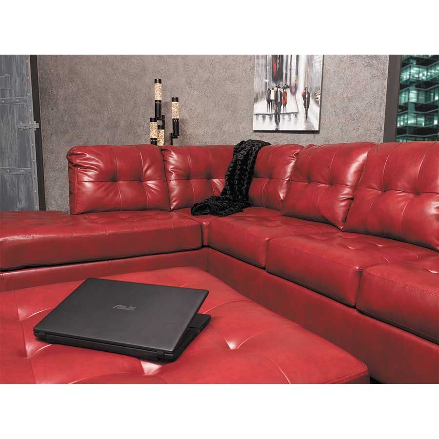 Stupendous Alliston Salsa 2Pc Sectional With Laf Chaise Caraccident5 Cool Chair Designs And Ideas Caraccident5Info
