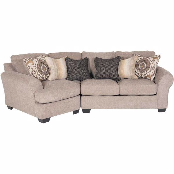 Picture of Pantomine 2 Piece Sectional with LAF Cuddler