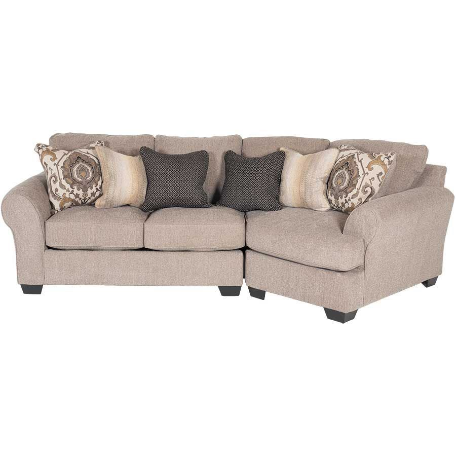 Picture of Pantomine 2 Piece Sectional with RAF Cuddler