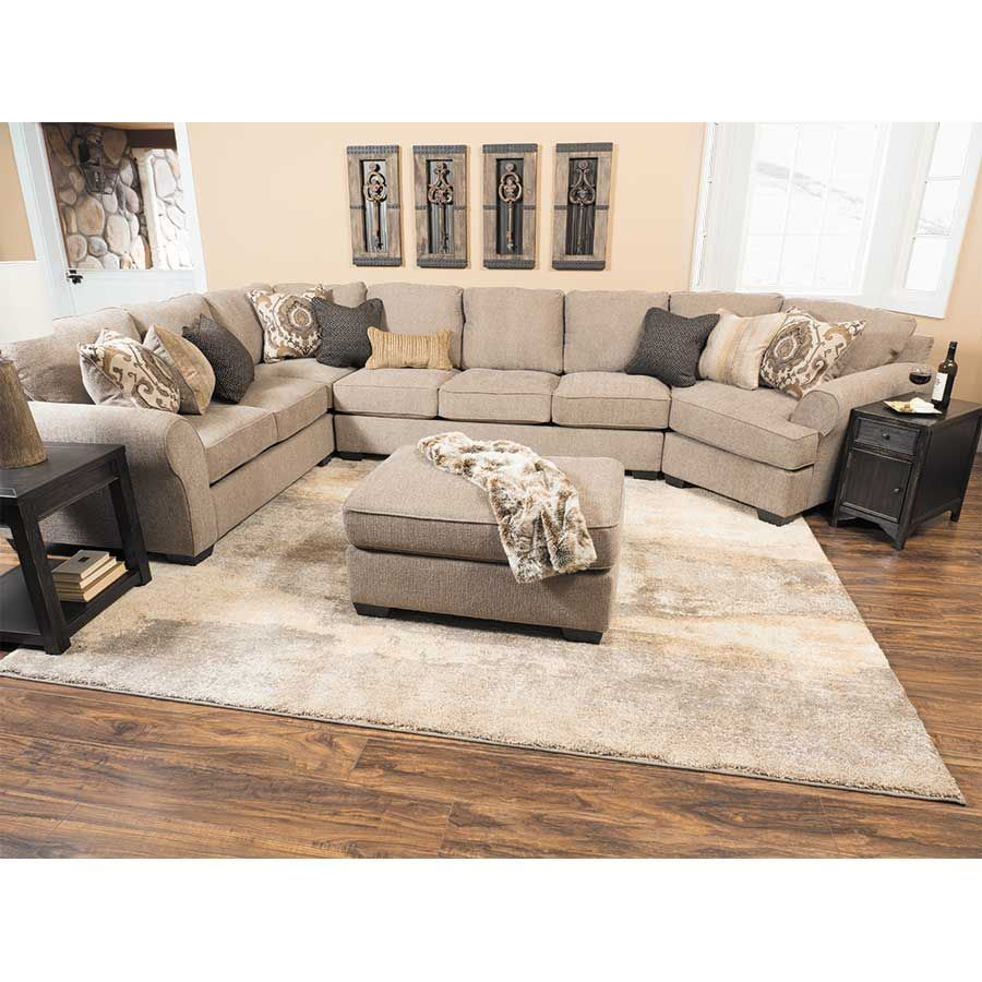 Picture of Pantomine 4 Piece Sectional with RAF Cuddler