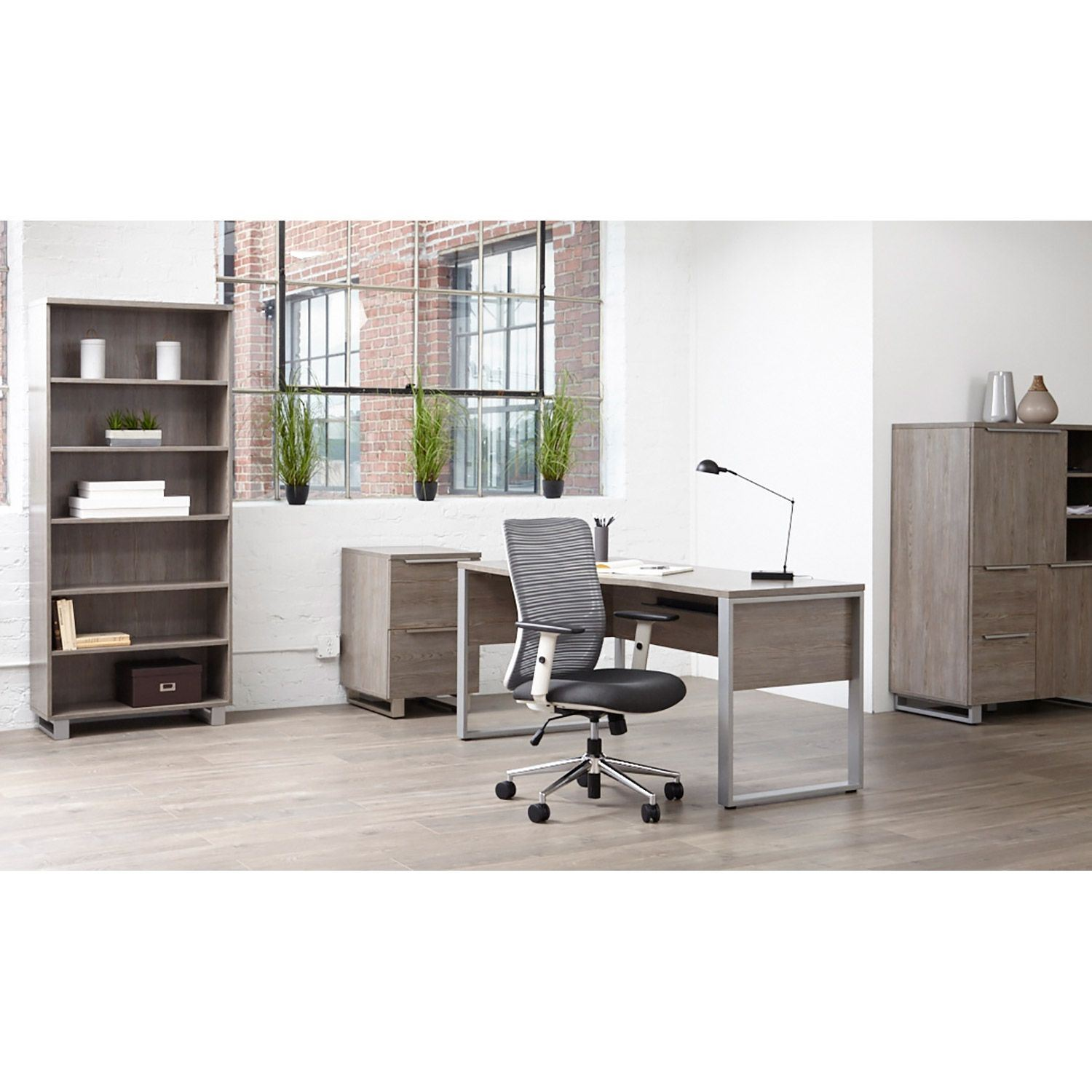 Picture of Manhattan Lateral File Cabinet, Grey