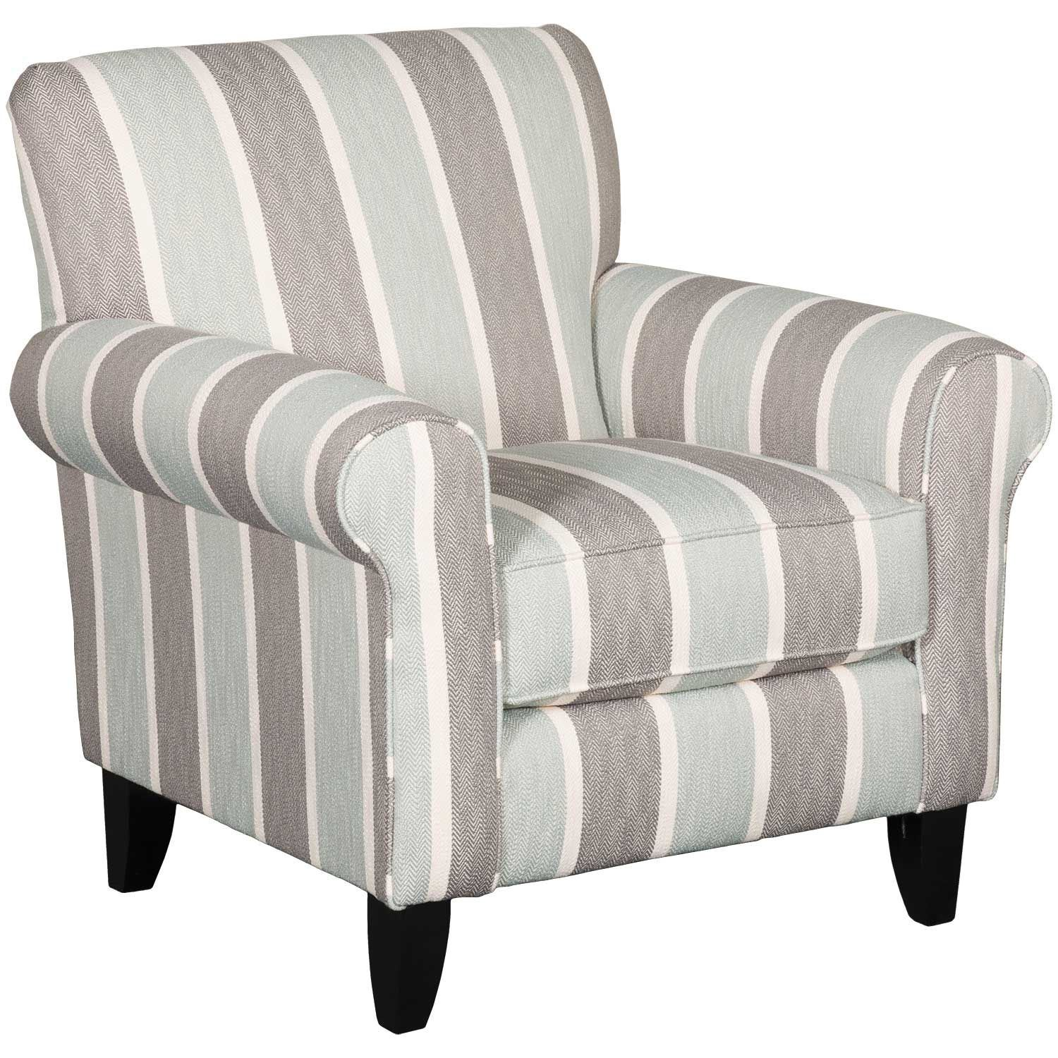 Accent Chairs.Brianne Striped Accent Chair
