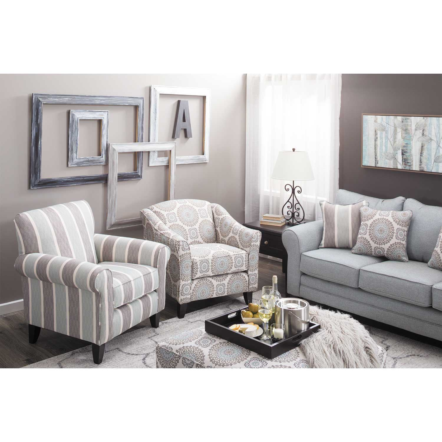 Picture of Brianne Twilight Accent Chair
