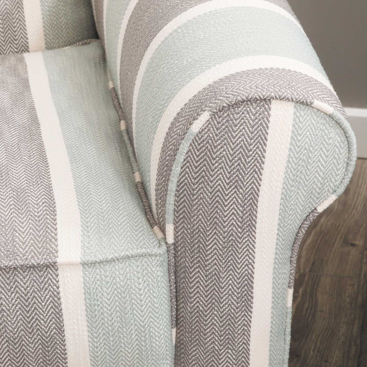 Picture of Brianne Striped Accent Chair