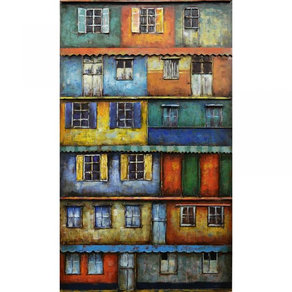 Picture of Metal Windows Wall Decor