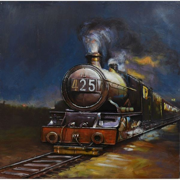 Picture of 425 Train Metal Wall Decor