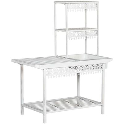 Picture of White Metal Work Bench