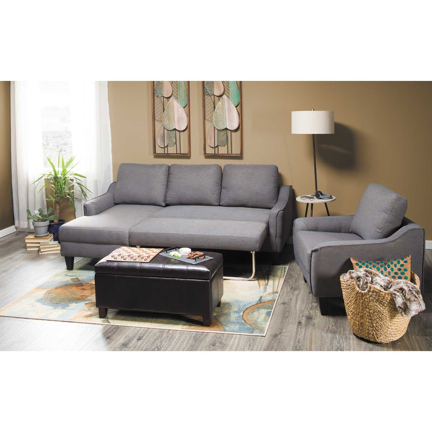 Peachy Jarreau Gray Sofa Sleeper 1150271 Ashley Furniture Afw Com Gmtry Best Dining Table And Chair Ideas Images Gmtryco