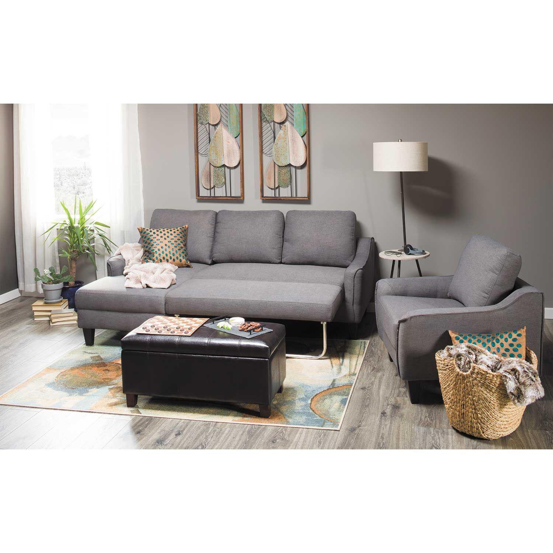 Jarreau Gray Sofa Sleeper 1150271 Ashley Furniture