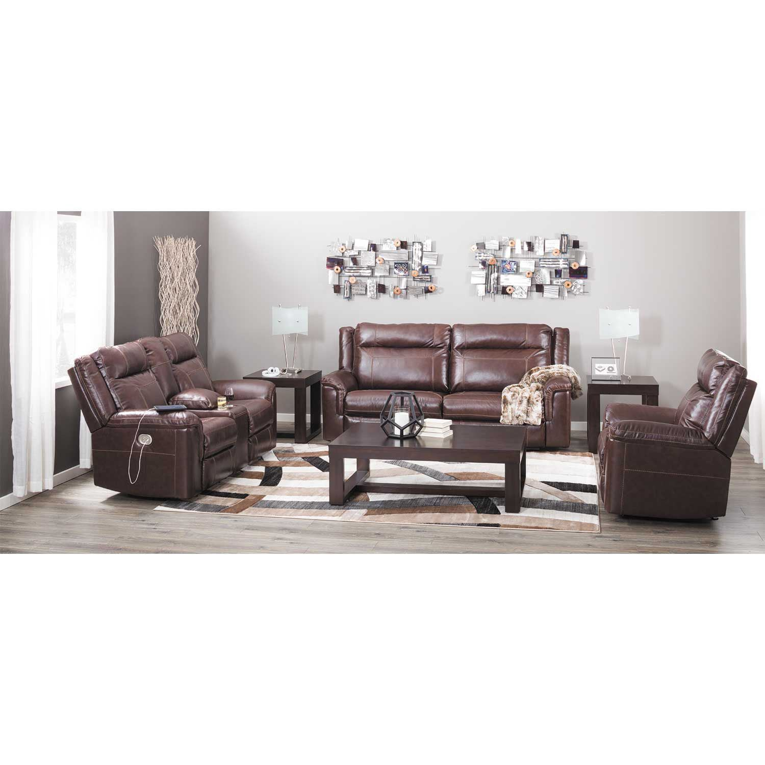 Marvelous Wyline Leather Power Recliner With Adjustable Headrest Pdpeps Interior Chair Design Pdpepsorg