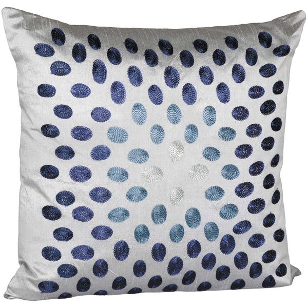 Picture of 18X18 Indigo Dots Decorative Pillow