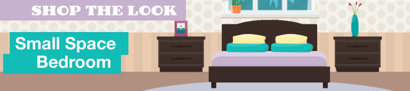 Shop the Look: Casual Small Space Bedroom