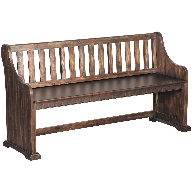 Remarkable Morrison All Wood Pew Bench Cjindustries Chair Design For Home Cjindustriesco