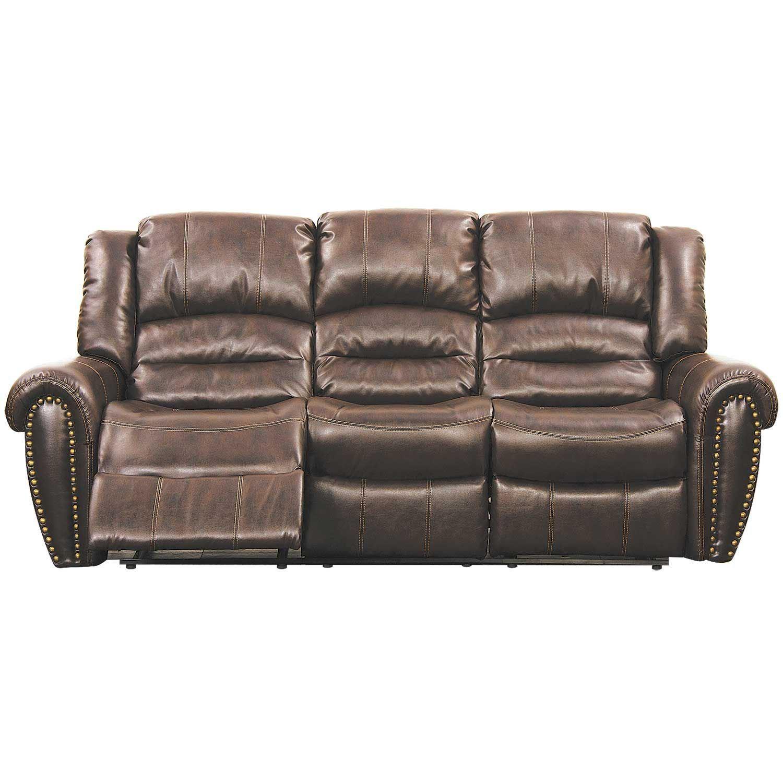 Brice Brown Reclining Sofa 9596 53