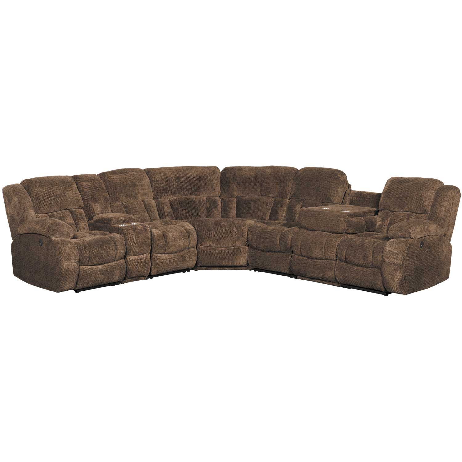 Picture of Eldon 7 Piece Power Reclining Sectional