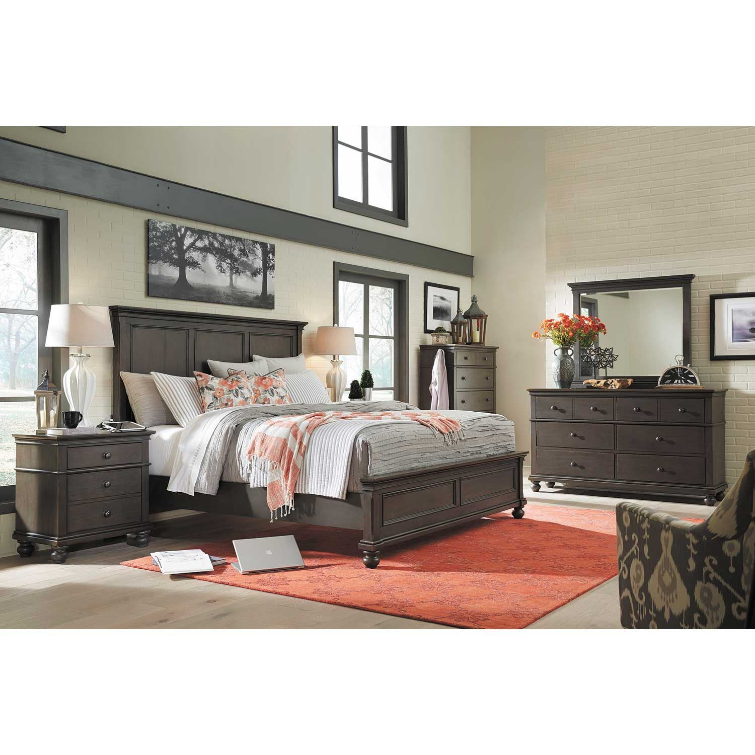 Picture of Oxford King Panel Bed