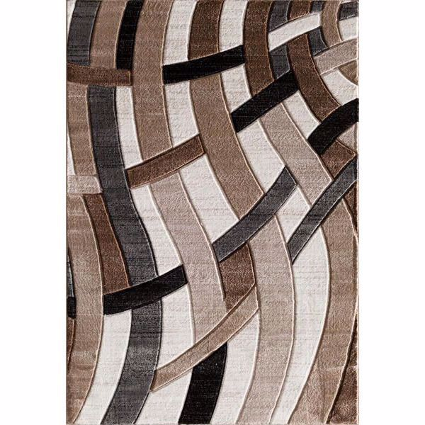 Picture of Hillsboro Beige/Charcoal 8x10 Rug