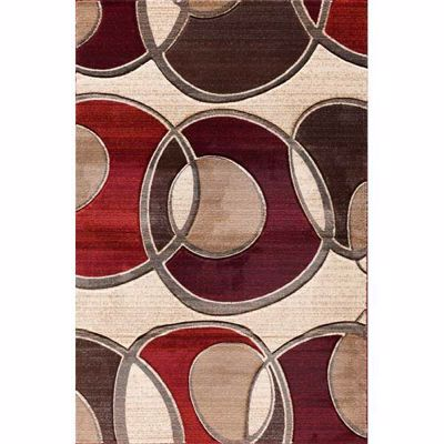 Picture of Pinnacle Around The Block Circle 8x10 Rug