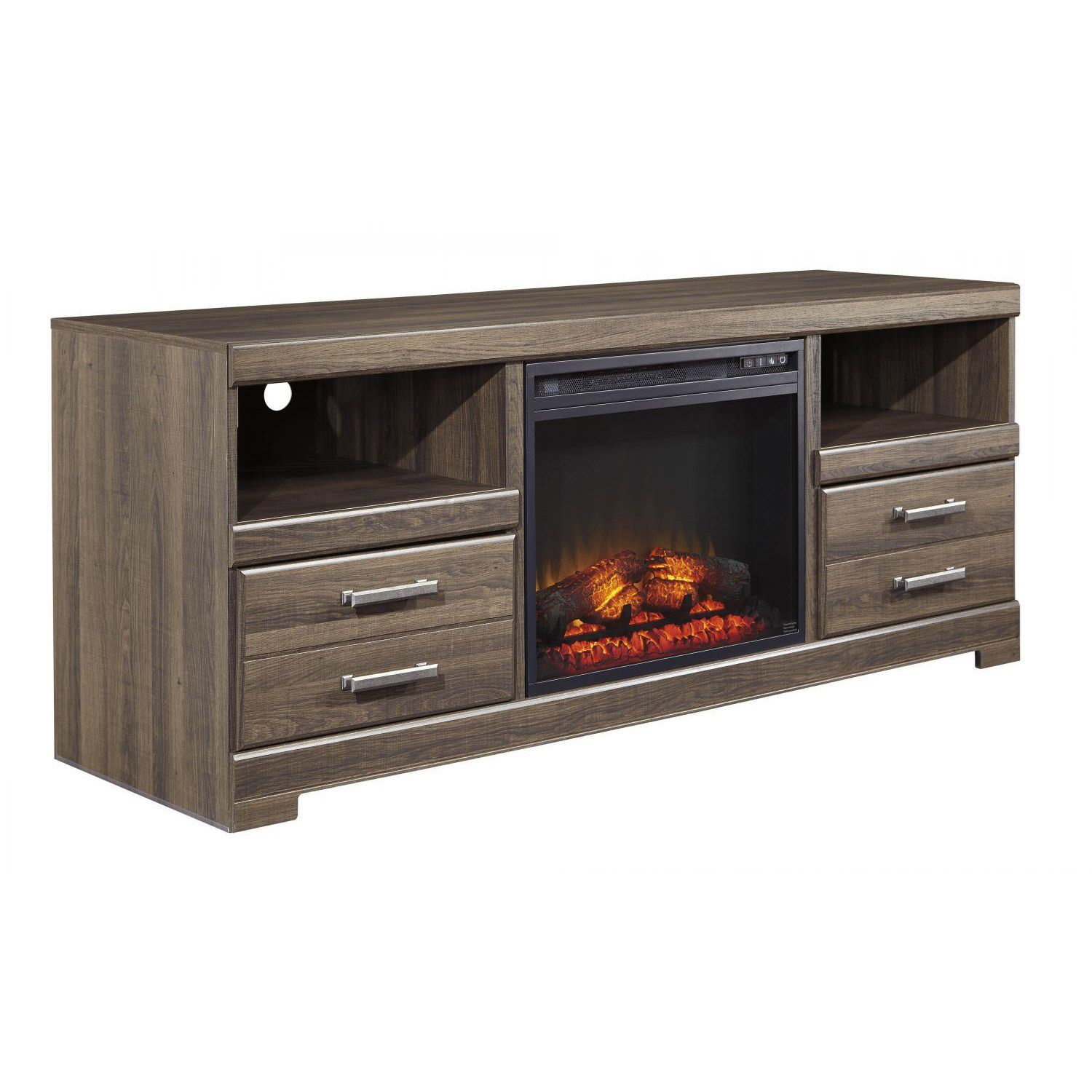 Frantin Fireplace Tv Stand W129 68 Set Ashley Furniture Afw Com