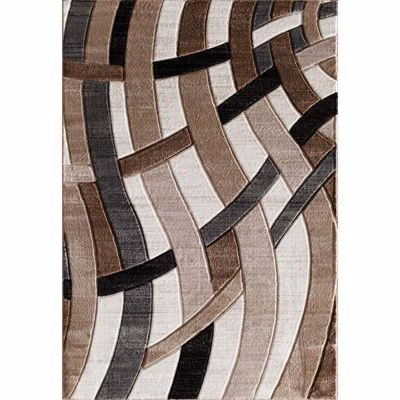 Picture of Hillsboro Beige Charcoal 5x7 Rug