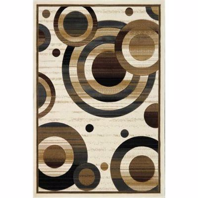 Picture of Zenith Circles 8x10 Rug