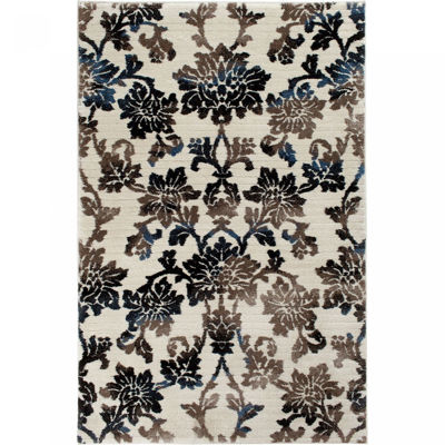 Picture of Deloit Ivory/Multi 5x8 Rug