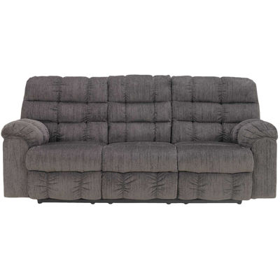 Picture of Slate Reclining Sofa w/ Table
