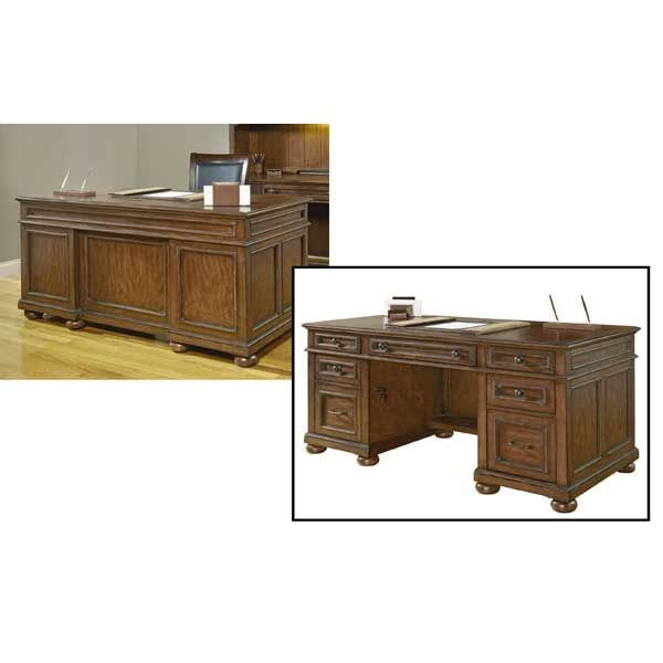 American Heritage Executive Desk 1209 34 Wynwood Furniture Afw Com