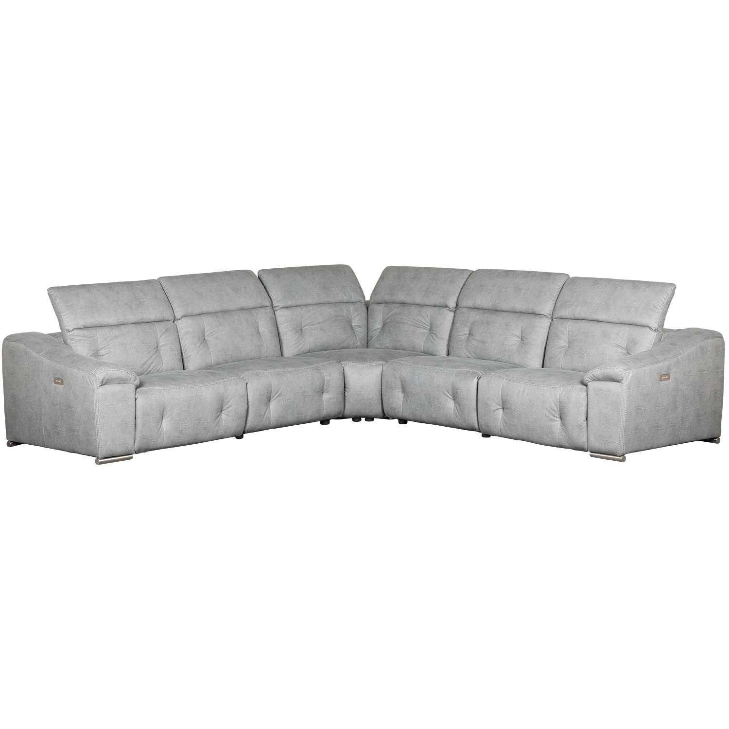 Picture of Bronx 5 Piece Power Reclining Sectional