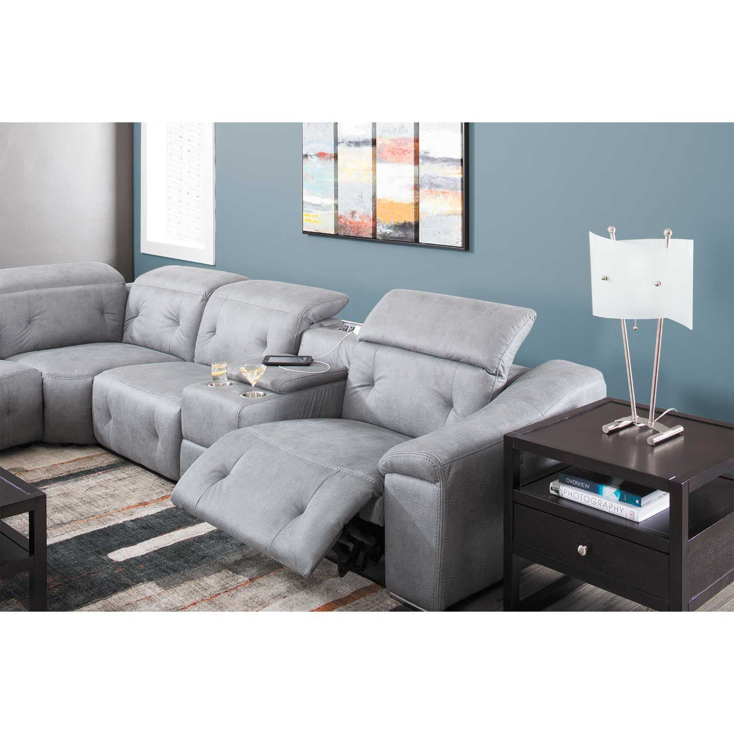 Picture of Bronx 7 Piece Power Reclining Sectional