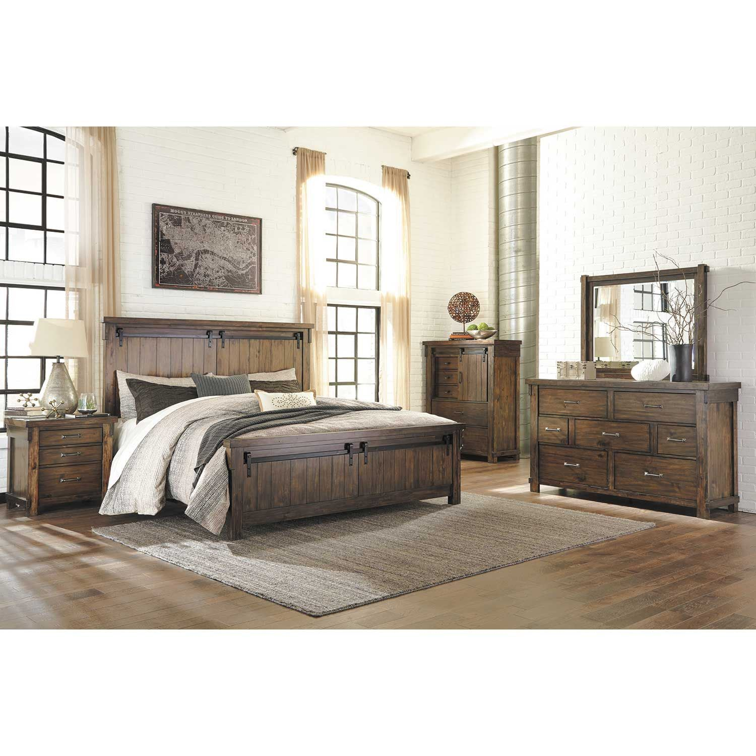 Hasley Furniture: Lakeleigh 5 Piece Bedroom Set
