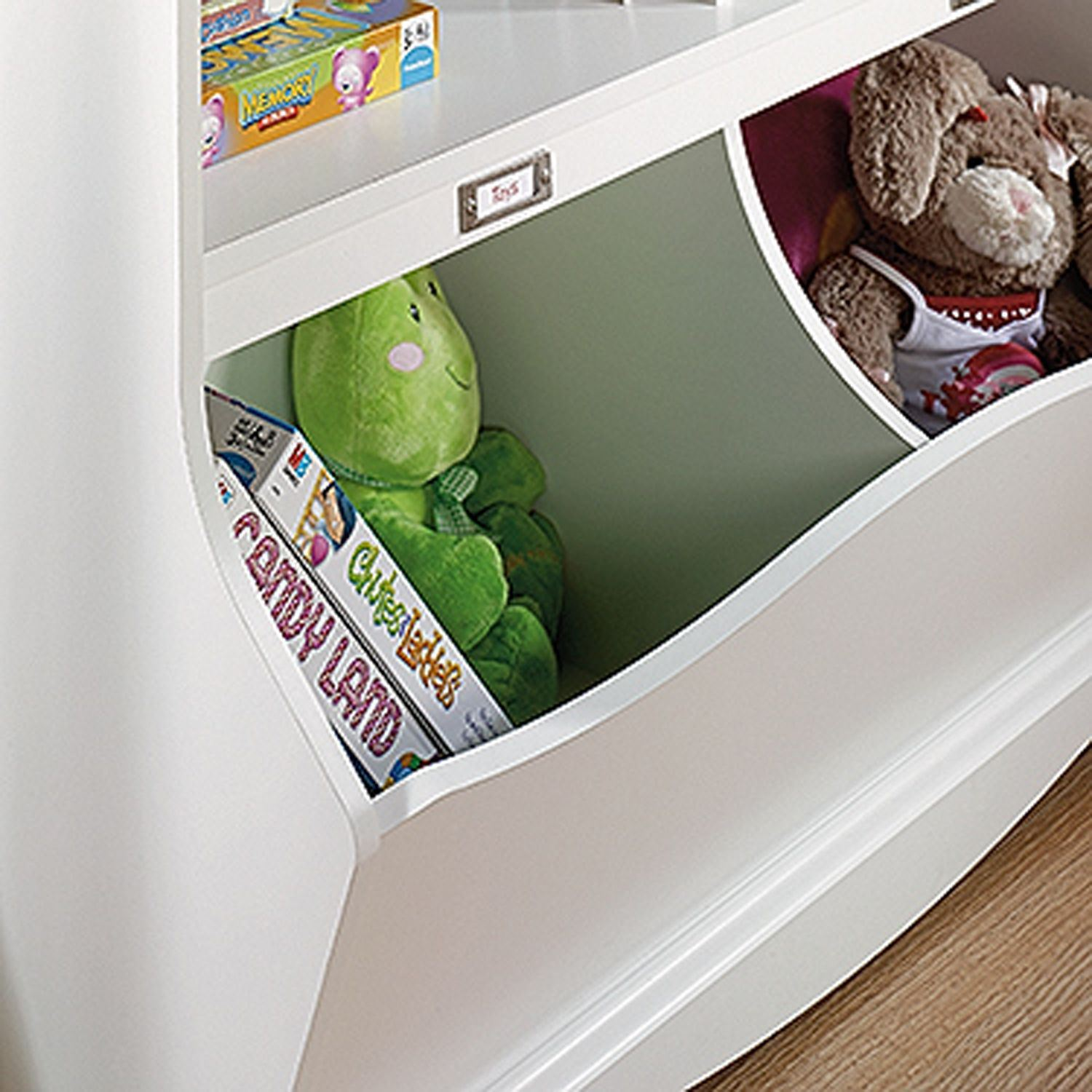 Picture of Pogo Bookcase/footboard Soft White * D