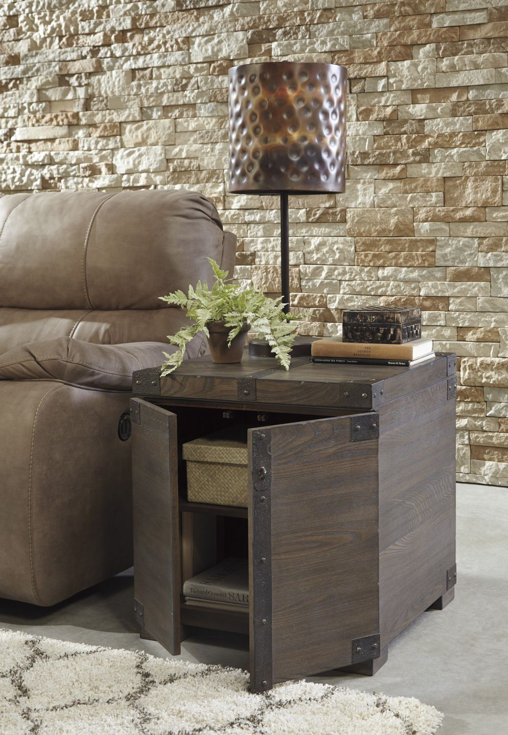 Picture of Burladen Square End Table * D