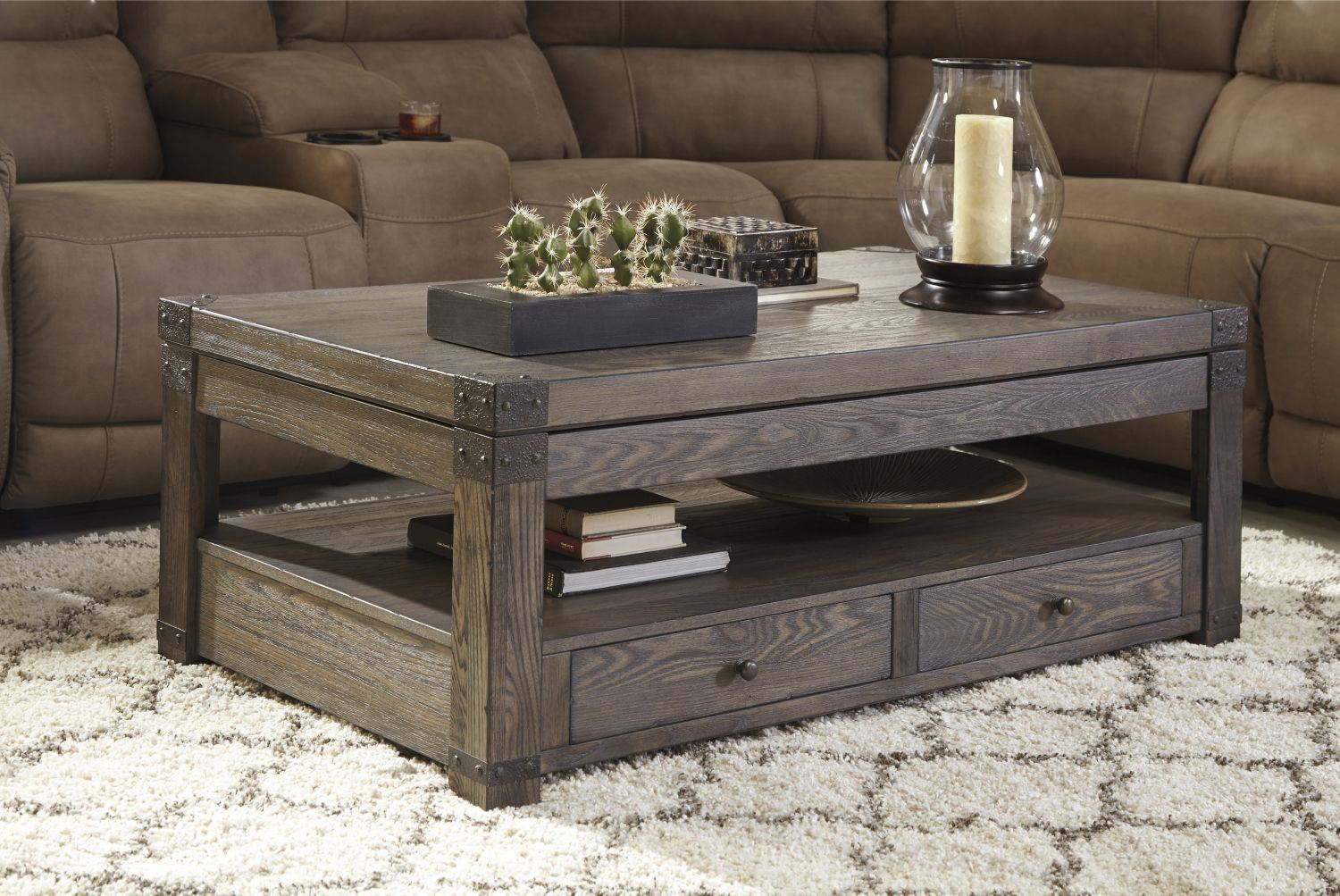 Burladen Rect Lift Top Coffee Table D
